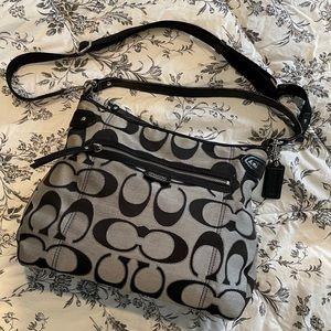 Coach Daisy 23918 Black/Silver Factory Outlet